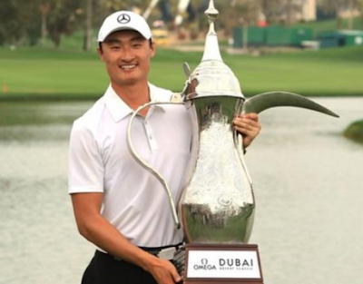 Dubai Desert Classic 2018, Li Haotong, Rory McIlroy, wins, money, fund, purse.
