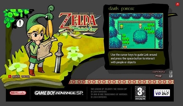 The Legend of Zelda: The Minish Cap - Flash