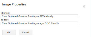 Cara Optimasi Gambar Postingan agar SEO friendly