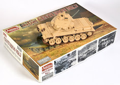 Build review: British Centurion Mk.5 in 35th scale from Amusing Hobby