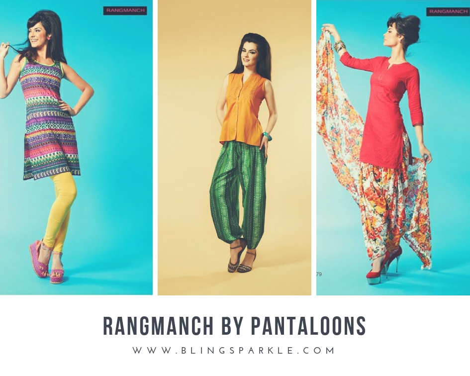 8e0db9d01 Pantaloons, one of India's leading fashion and lifestyle retail format  launched their in-house lines that celebrate Indian ethnic styles with  their ...