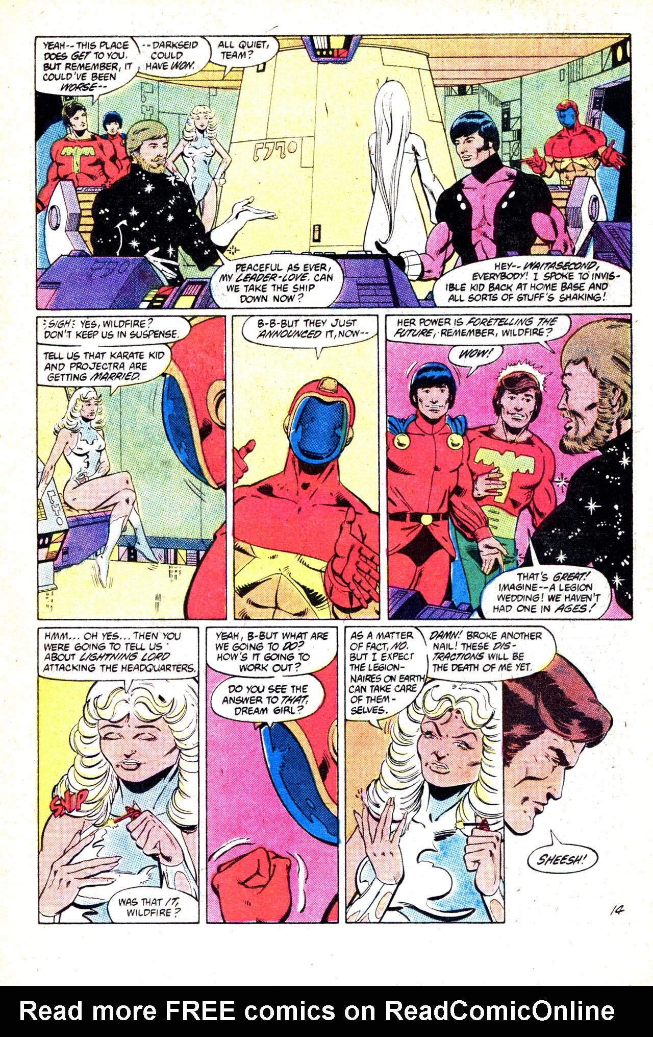 Legion of Super-Heroes (1980) 302 Page 18