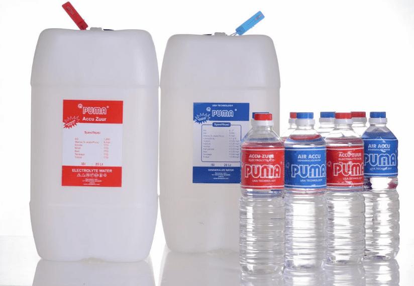 Jangan Salah Isi Ini Bedanya Air Aki Botol Merah Dan Biru Akimo