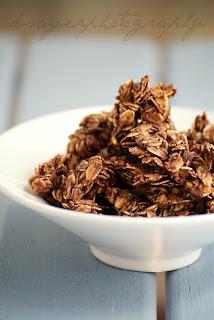 Healthy Cocoa Banana Granola