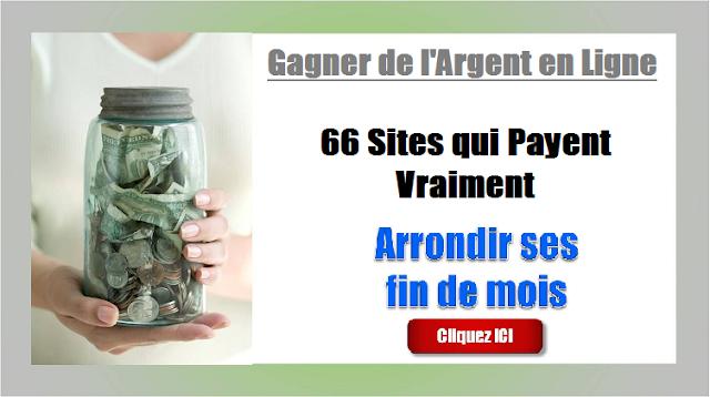 Gagner de l'argent en ligne : 66 sites qui payent vraiment
