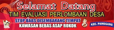 Download Spanduk Lomba Desa dalam rangka HUT RI Agustusan CDR