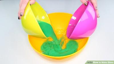slime nasıl yapılır, slime tarifi, slime hazırlanışı, borakslı borakssız slime