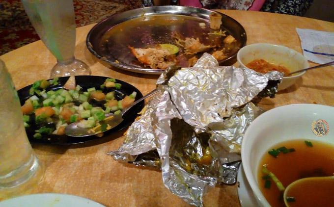 Layan Nasi Arab Dalam Talam di Restoran Harga Patut