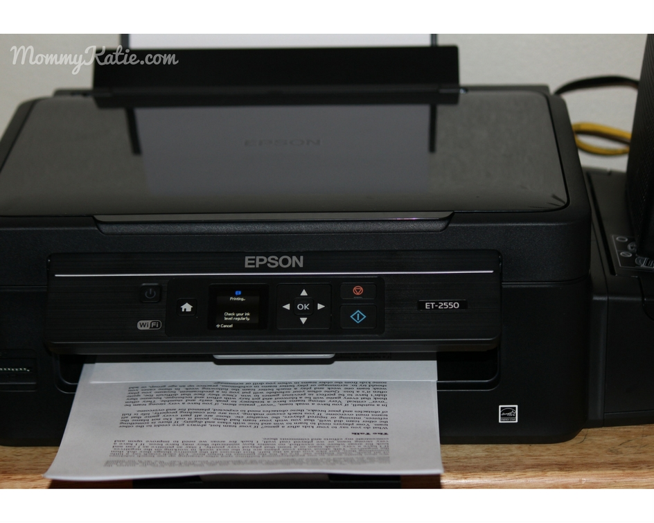 epson expression et 2550 ecotank all in one printer mommy katie. Black Bedroom Furniture Sets. Home Design Ideas