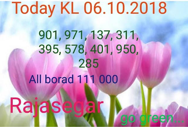 Kerala lottery abc guessing Karunya KR-365 on 06.10.2018 by Rajasegar