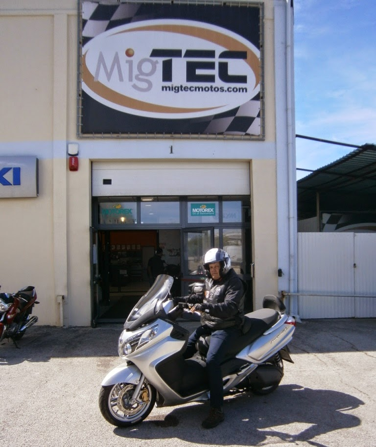 GOSTOdeSCOOTERS: Migtec - Open Day (1º Contacto - Sym Maxsym
