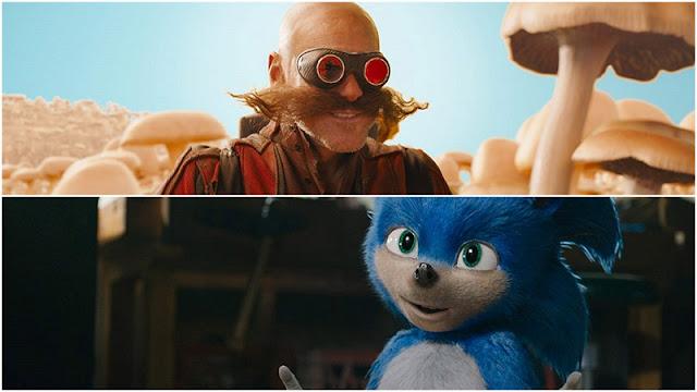 trailer de 'Sonic' con Jim Carrey como villano