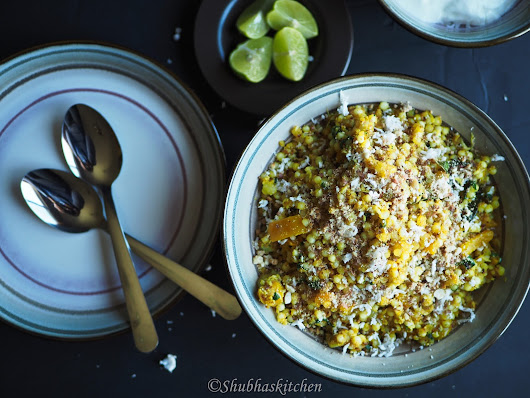 Sabudana Khichdi (with a bellpeppers)