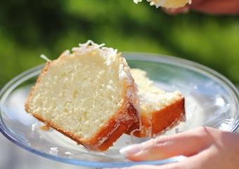fresh coconut loaf cake