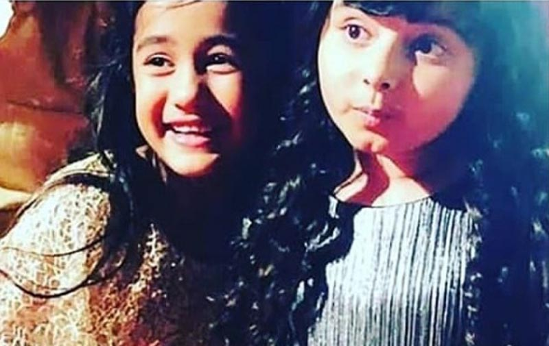 Aakriti Sharma with Myra Singh