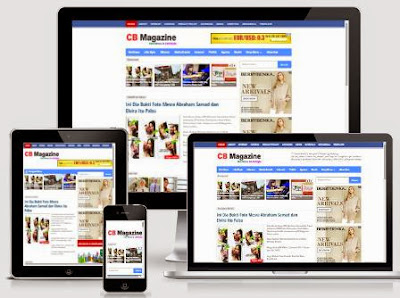 CB Magazine - Responsive Magazine News Blogger Template