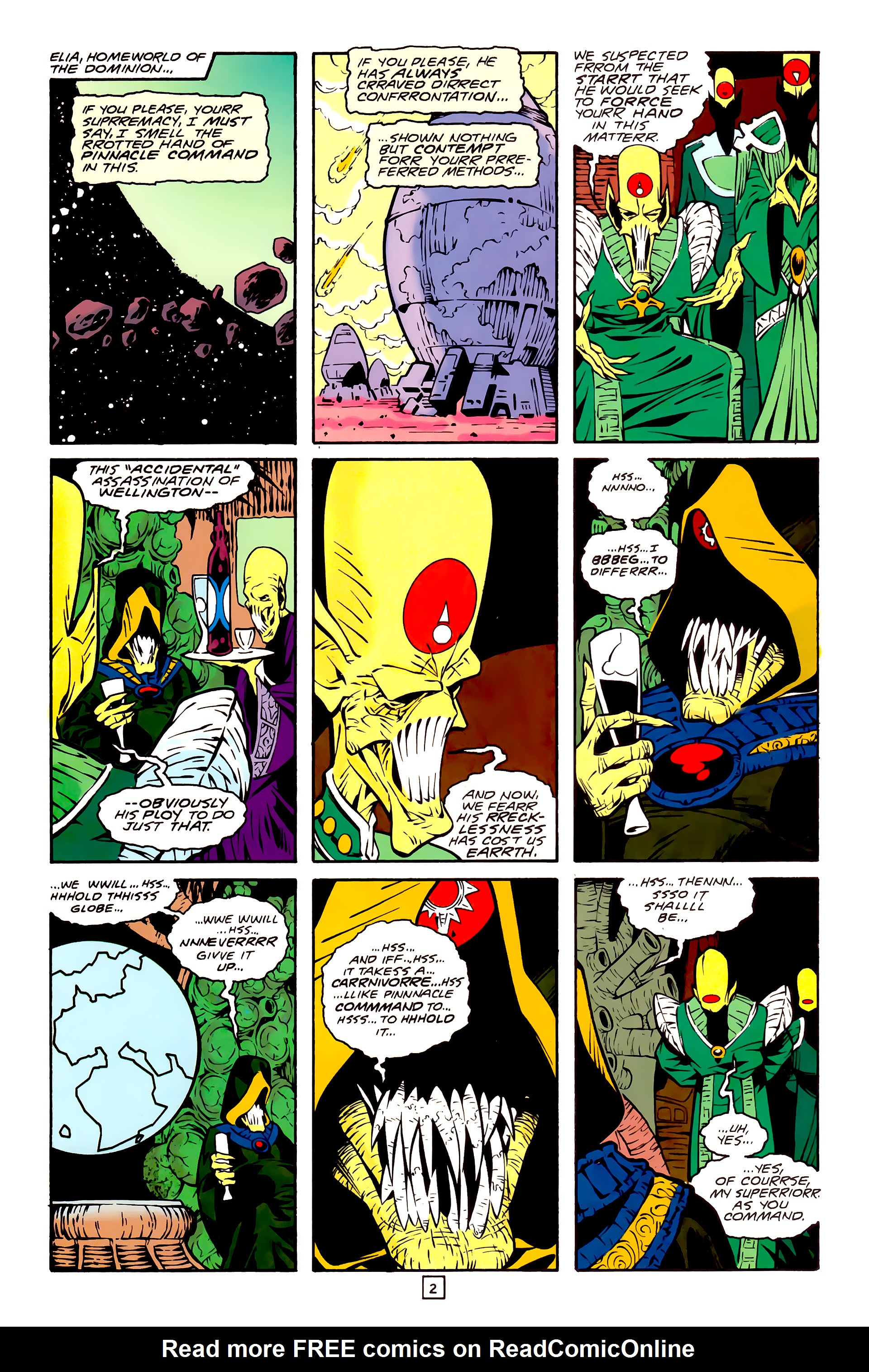 Legion of Super-Heroes (1989) 30 Page 2