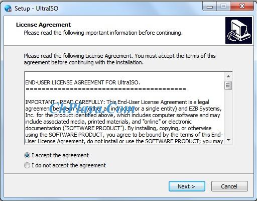 Hướng dẫn Cài đặt UltraISO 1