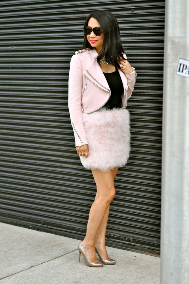 Pink Feather outfit