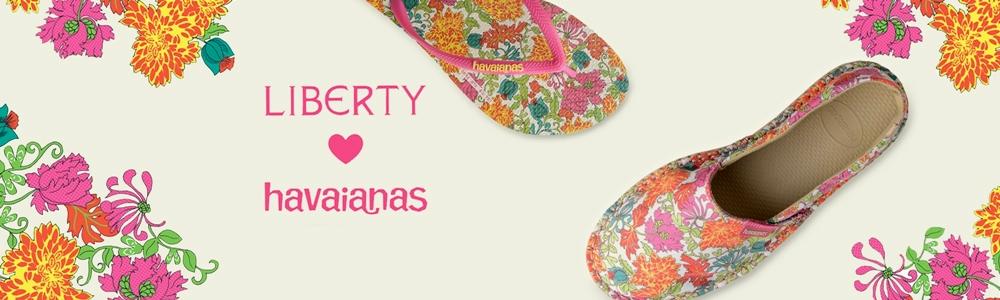 Liberty loves Havaianas - Flower Print Espadrilles & FlipFlops