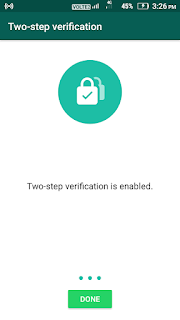 two step verification use kaise karen