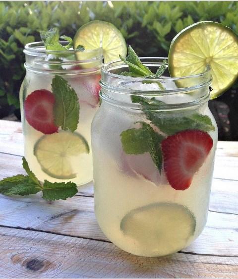 Vodka Mint Lemonade Cocktail With Stoli #Drink #cocktail