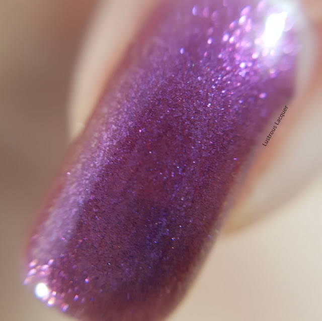 Purple-multi-chrome-nail-polish