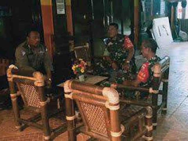 Sinergitas TNI - Polri dalam Pengamanan Arus Mudik Lebaran di Buleleng