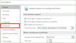 Cara Merubah Satuan Ukur (Ruler Units) pada Excel