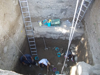 Mycenaean frescoes found in Boeotian Thebes