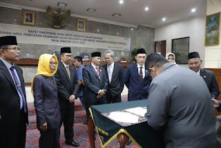 Dedi Taufik Ucapkan Selamat Kepada  Pasangan Walikota Cirebon Terpilih Dan Ingatkan Agar Menjadi Pemimpin Yang  Amanah
