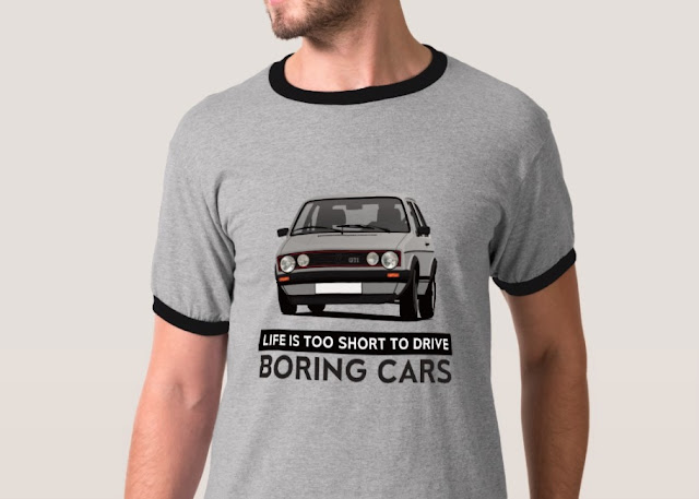 Life is too short to drive boring cars - Golf GTI Mk1