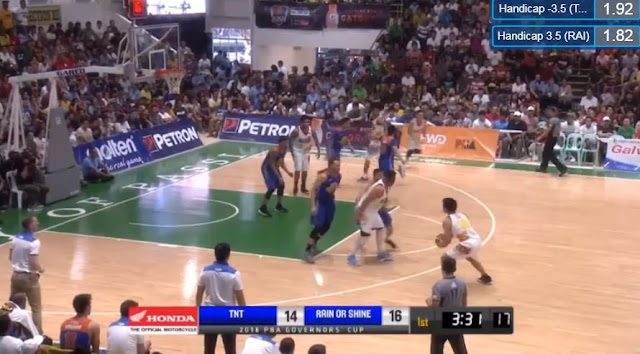 Video Playlist: TNT Katropa vs Rain or Shine Elasto Painters game replay 2018 PBA Governors' Cup