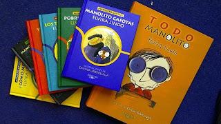 Libros de Manolito Gafotas en Cargada con libros