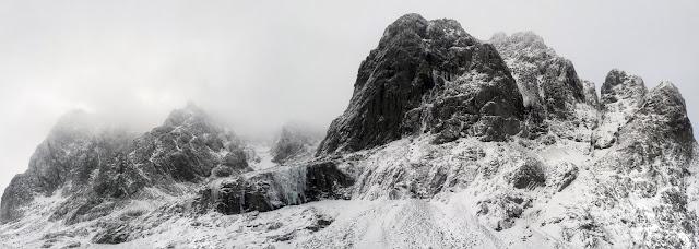 Ben Nevis in winter.