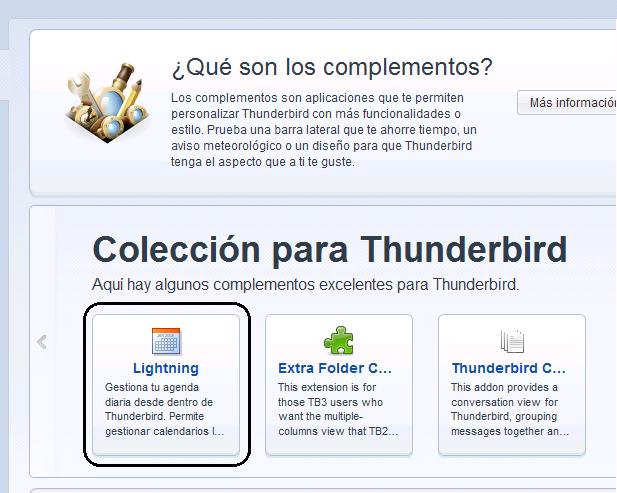 how to add lightening into thunderbird