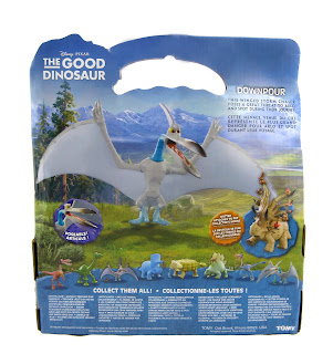 the good dinosaur tomy downpour large figure