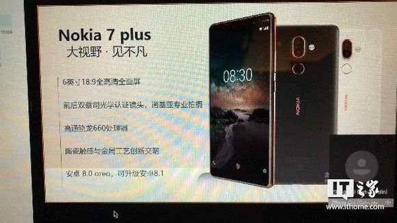 Nokia's 7 Plus to have 18:9 display and an advance dual cameras