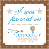 I was featured on cookie connection