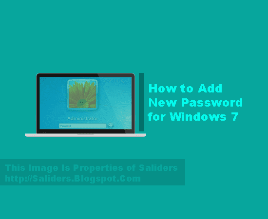 Cara Memberi Password Pada User Account Windows 7 32bit/64bit