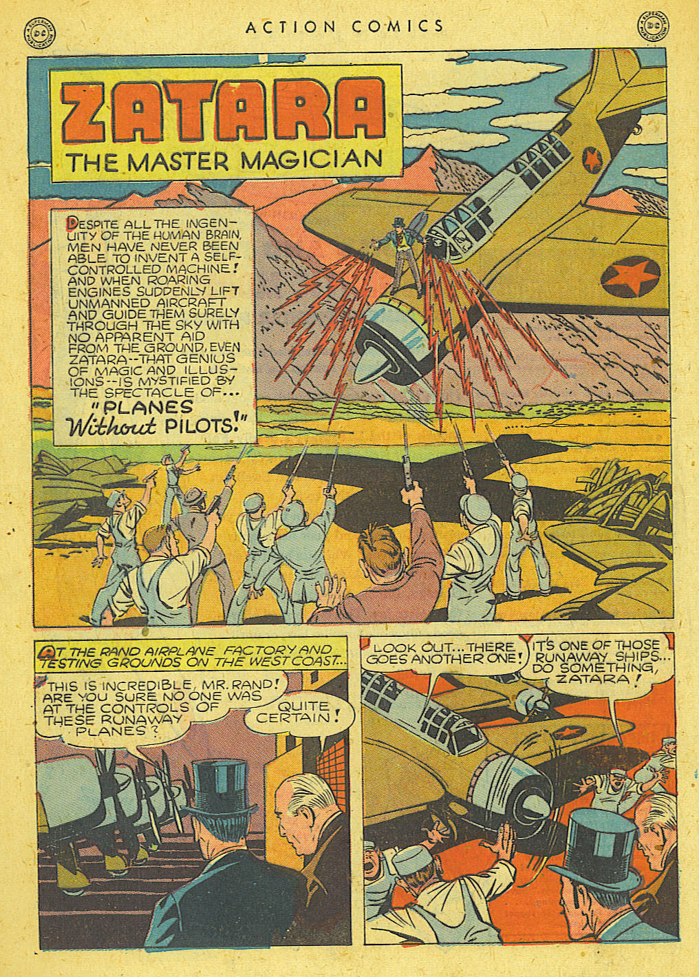 Read online Action Comics (1938) comic -  Issue #78 - 36