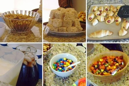 Toddler-friendly finger foods for birthday party