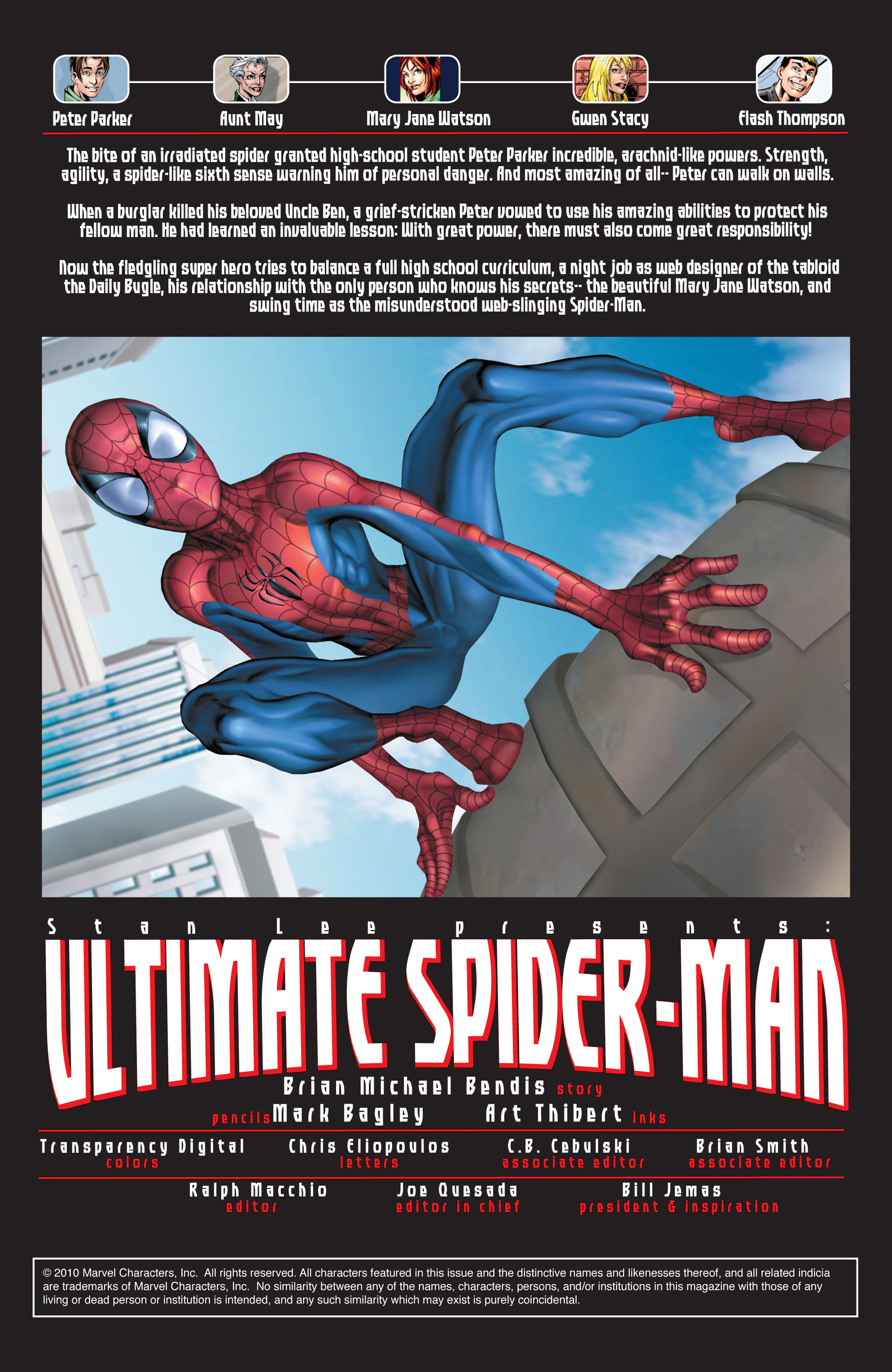 Read online Ultimate Spider-Man (2000) comic -  Issue #28 - 4