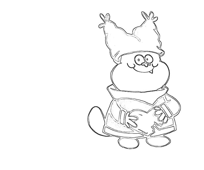 Chowder chibi avondale style for Chowder coloring pages