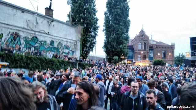 Arena Wien Vienna Panorama Crowd 2016 wolfmother