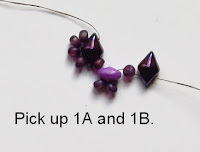 Two-Hole Bead Beaded Cuff Bracelet
