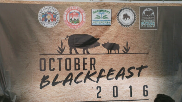 October Blackfeast 2016, showcasing the potential of Philippine native pigs