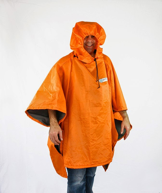 Man in Orange Kagool - UK Staycations - motherdistracted.co.uk