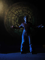 AbbyShot Customer in her Doctor Who Martha Jones Companion Jacket, in front of the Pandorica at the Doctor Who Experience