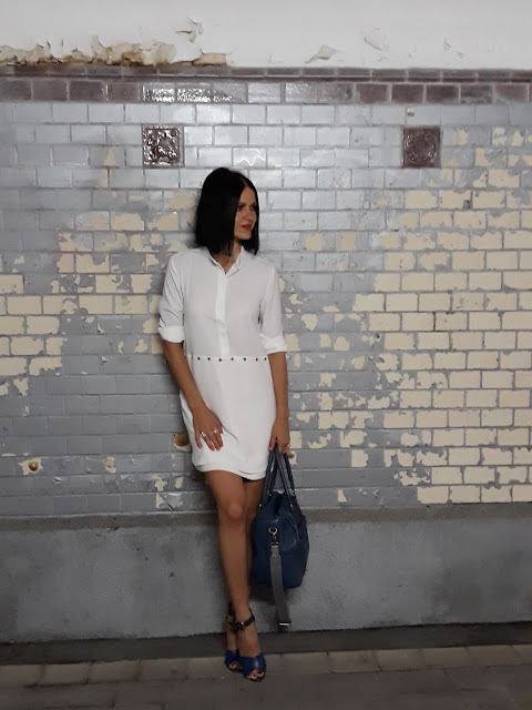 BIAŁA SUKIENKA I DIY / WHITE DRESS & DIY